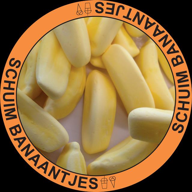 Bananen Schuimpjes