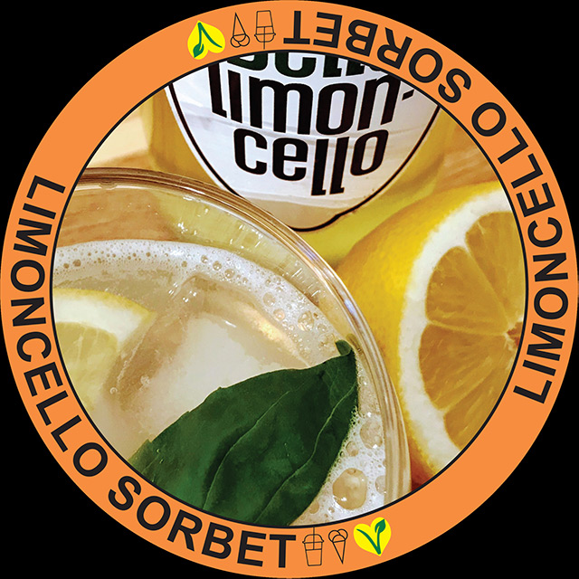 Limoncello Sorbet Nieuwe Receptuur